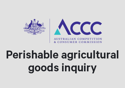 ACGC Submission to Perishable Agricultural Goods Inquiry